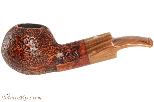 Mastro De Paja Pompei 500 Tobacco Pipe - Bent Author