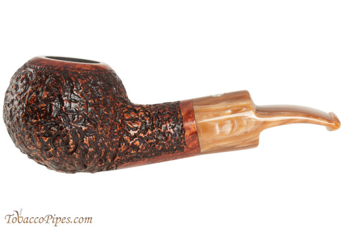 Mastro De Paja Pompei 500 Tobacco Pipe - Rustic Bent Author