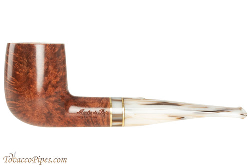 Mastro De Paja Cinque Terre 100 Tobacco Pipe - Smooth Billiard