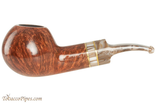 Mastro De Paja Cinque Terre 500 Tobacco Pipe - Smooth Bent Author