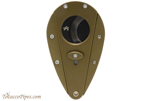 Xikar Xi1 Cigar Cutter - Green with Black Blades