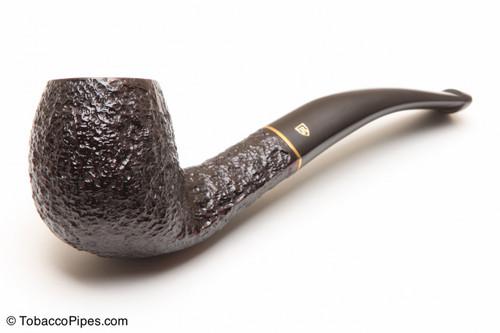 Savinelli Roma KS Briar Pipe 677 Black Stem Tobacco Pipe Left Side