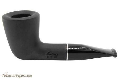 Molina Shorty Black 125 Tobacco Pipe - Dublin