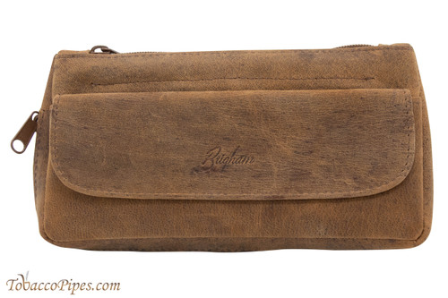 Brigham 1 Pipe Tobacco Pouch - Vintage