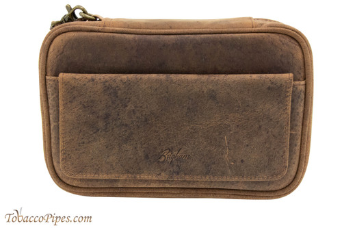 Brigham 4 Pipe Case - Vintage