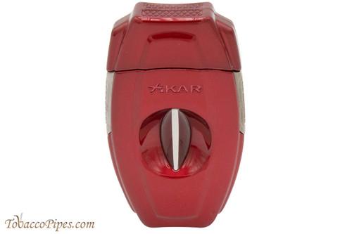 Xikar VX2 V-Cut 157 Cigar Cutter - Red