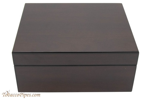Brigham Celestial Dark Walnut Matte Finish Humidor - 50ct