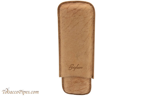 Brigham 2F Toro Cigar Case - Brown