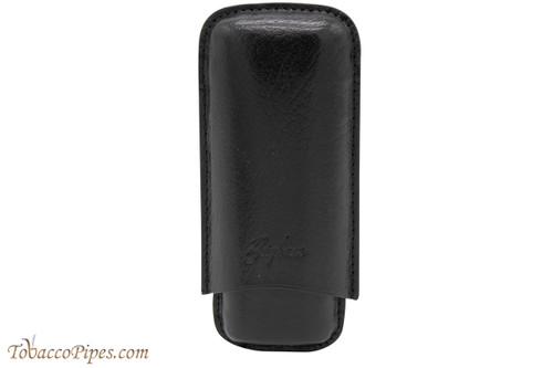 Brigham 2F Robusto Cigar Case - Black
