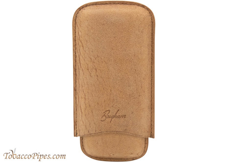 Brigham 3F Corona Cigar Case - Brown