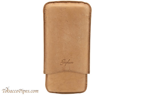 Brigham 3F Toro Cigar Case - Brown