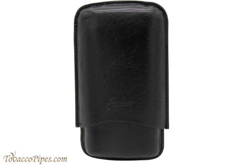 Brigham 3F Robusto Cigar Case - Black