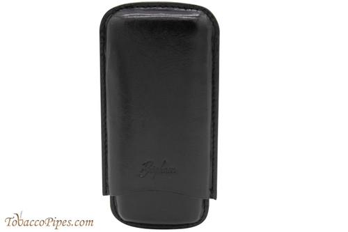 Brigham 3F Corona Cigar Case - Black