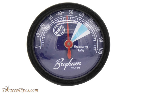 Brigham Analog Humidor Hygrometer - Round