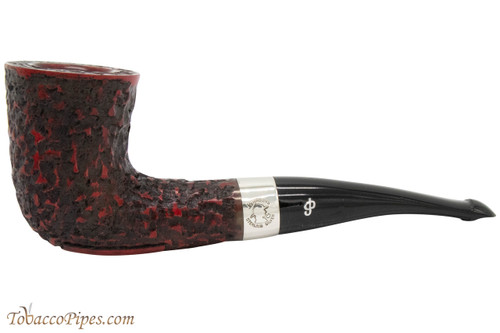 Peterson Sherlock Holmes Mycroft Rustic Tobacco Pipe - PLIP
