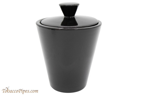 Savinelli Black Ceramic Tobacco Jar