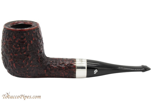 Peterson House Pipe Rustic Billiard Oak Tobacco Pipe - PLIP