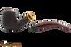 Savinelli Regimental Brown 602 Tobacco Pipe - Rustic Apart