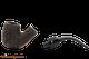 Peterson Aran XL220 Bandless Rustic Tobacco Pipe Apart