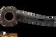 Peterson Aran B10 Bandless Rustic Tobacco Pipe Top