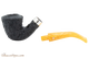 Peterson Rosslare Classic B10 Rustic Tobacco Pipe Apart