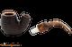 Savinelli Tortuga Rustic 614 Tobacco Pipe Apart