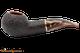 Savinelli Roma Rustic 320 Lucite Stem Tobacco Pipe