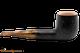 Rattray's Fudge 5 Sandblast Black Tobacco Pipe - 9118 Right Side