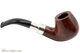 Peterson Walnut Spigot 68 Tobacco Pipe Fishtail Right Side