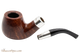 Peterson Walnut Spigot 68 Tobacco Pipe Fishtail Apart