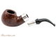 Peterson Walnut Spigot XL02 Tobacco Pipe Fishtail Apart