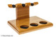 Neal Yarm Tilt Head 3 Pipe Stand Cherry Side