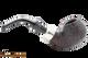 Peterson Standard System Sandblast 302 Tobacco Pipe PLIP Right Side