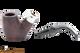 Peterson Standard System Sandblast 306 Tobacco Pipe PLIP Apart