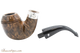 Peterson Sherlock Holmes Dark Smooth Baskerville Tobacco Pipe PLIP Apart
