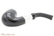 Peterson Ebony Spigot X220 Tobacco Pipe Fishtail Bottom
