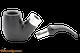 Peterson Ebony Spigot 306 Tobacco Pipe Fishtail Apart