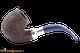 Savinelli Eleganza 614 Rustic Dark Brown Tobacco Pipe