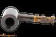Savinelli Tigre 311 KS Smooth Dark Brown Tobacco Pipe Top