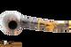 Savinelli Tigre 670 KS Smooth Dark Brown Tobacco Pipe Top