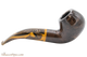 Savinelli Tigre 642 Smooth Dark Brown Tobacco Pipe Right Side