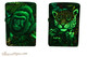 Zippo 540 Color Mysteries Of The Forest Lighter Set Glowing