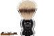 Parker BHST Black Handle Silvertip Badger Shave Brush