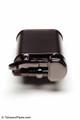 Kiribi Kabuto Black Nickel Pipe Lighter Top