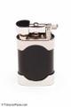 Kiribi Mikazuki Short Black Matte Pipe Lighter Back