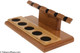 Neal Yarm Mahogany and Maple 5-Pipe Stand Side