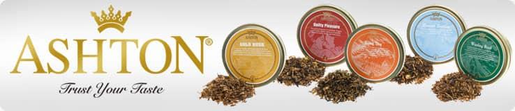 Ashton Pipe Tobacco Tins