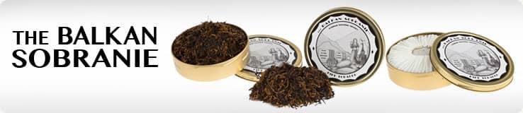 Balkan Sobranie Pipe Tobacco Banner