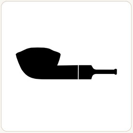 Bullcap tobacco pipe shape example