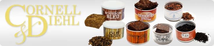 Cornell & Diehl Pipe Tobacco Tin